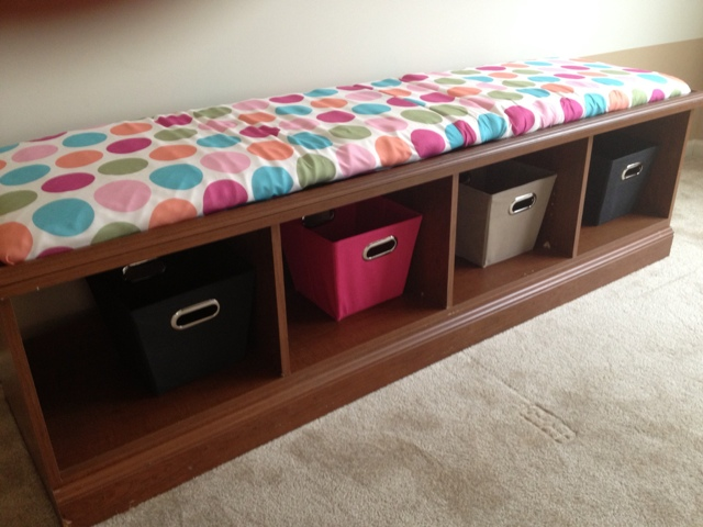 Two It Yourself: Entertainment center to DIY storage bench