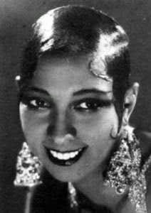 Band name Eton Crop - Josephine Baker Portrait
