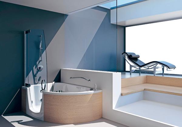 Docce e vasche: teuco presenta il combinato 383