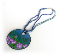 Almost perfect - improving product photos - Polymer Clay Necklace
