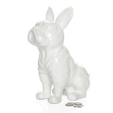 French Bulldog Coin Bank Z Gallerie www.olivelaneinteriors.com
