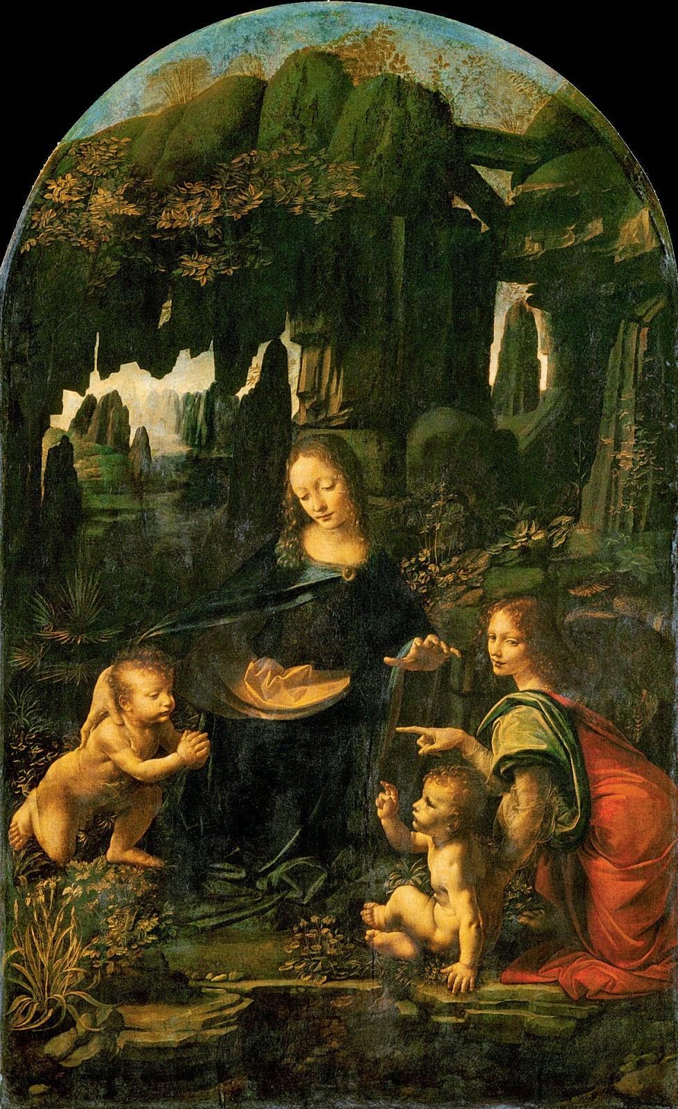 Ángeles y Santos: El Nacimiento de San Juan Bautista