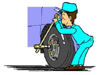 Melepas, Memasang dan Menyetel Roda