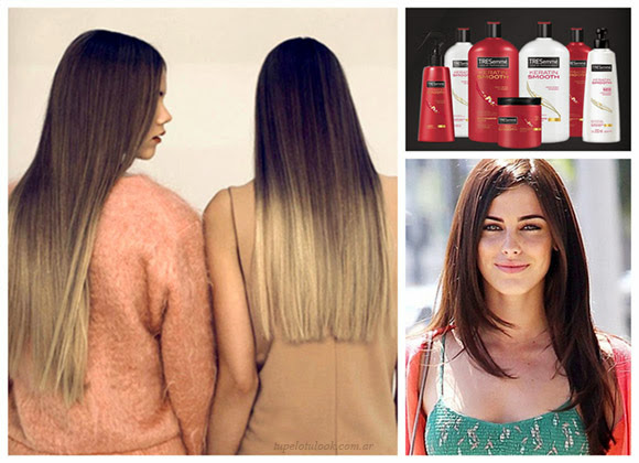 peinados 2014 pelo liso tressemme