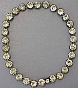 Antique diamond riviere