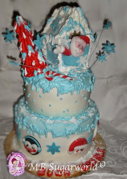 torta natalizia pdz