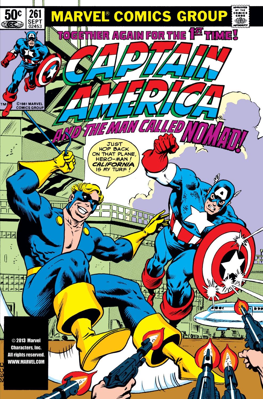 Captain America (1968) Issue #261 #176 - English 1