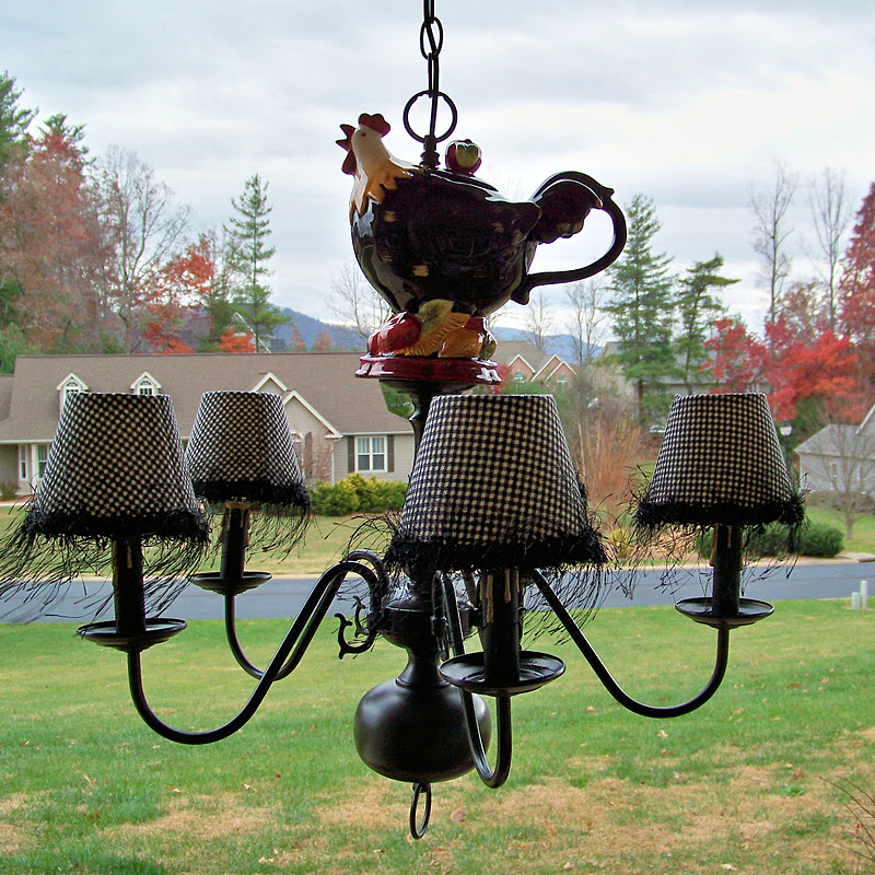 FRENCH COUNTRY ROOSTER CHANDELIER – Rooster Chandelier