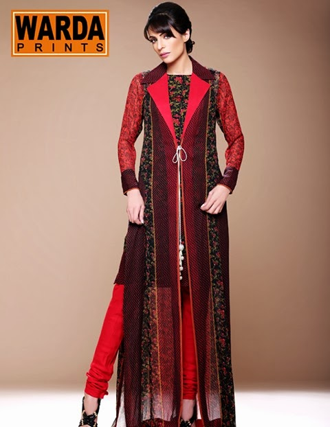 WardaPrintsFall WinterCollection2014 2015 wwwfashionhuntworldblogspotcom 001 - Winter Collection 2014  By Warda Prints vol  2