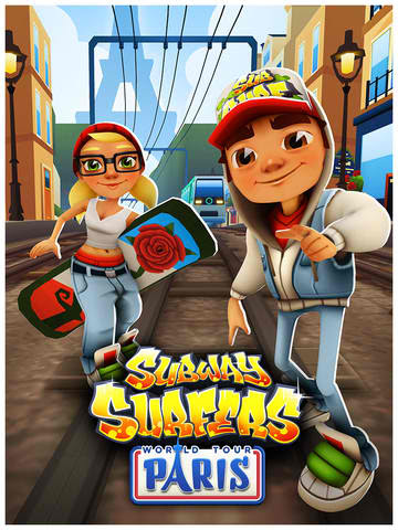 Subway Surfer World Tour Characters