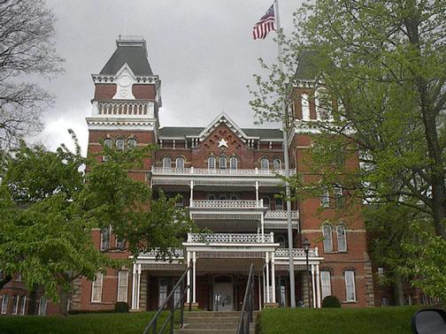 Ohio assombração universidade