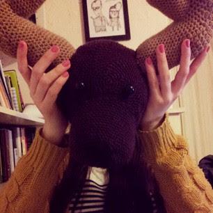 Deer Head - Seeking Patterns - Crochetville