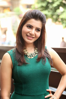 Samantha Latest Photos in Tight Jeans at Attarintiki Daredi Movie Interview