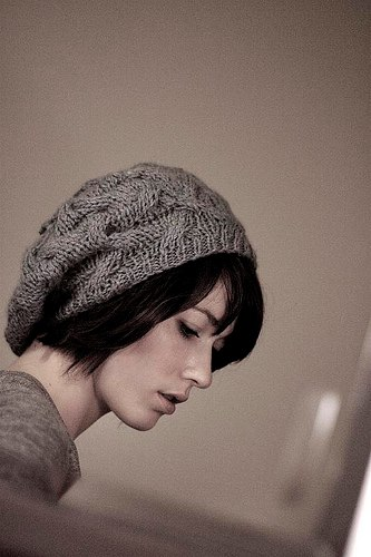 Slouchy Cable Knit Hat Pattern : Stash: Great Gifts!
