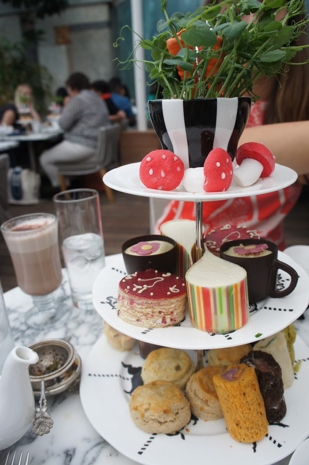 Mad hatters vegan afternoon tea