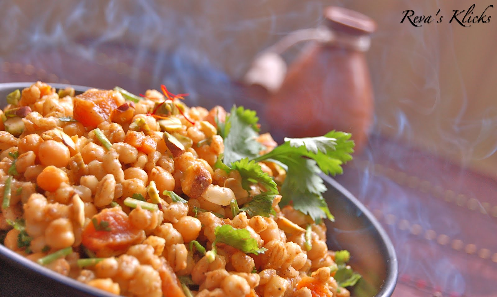 bursting with health benefits chickpeas and barley make an awesome