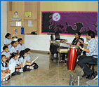 Dhirubhai Ambani International School Music Class