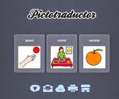 Utilizamos el Pictotraductor