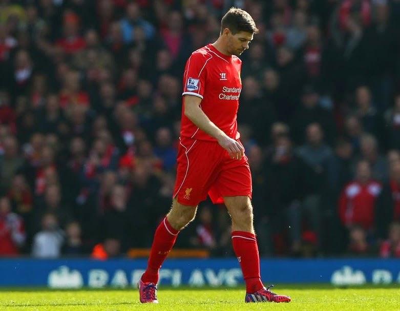 Steven Gerrard: I take full responsibility for my red card