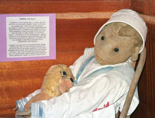 Robert the Haunted Doll: More than a Plaything