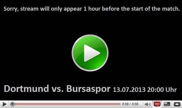 Borussia Dortmund - Bursaspor