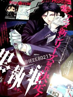 Kuroshitsuji nuevo anime anuncio 2014