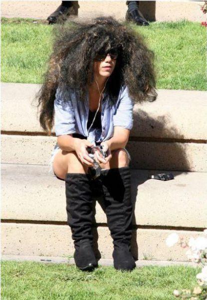 Peinados y cortes de pelo rarisimos
