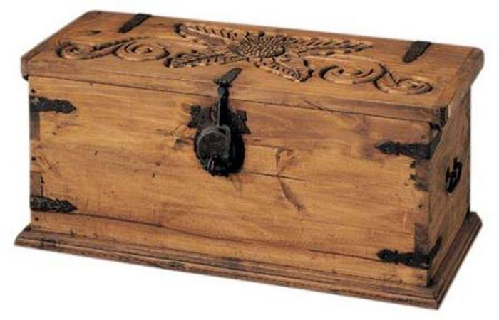 La web de la decoracion y el mueble en la red ba les - Baules antiguos de madera ...