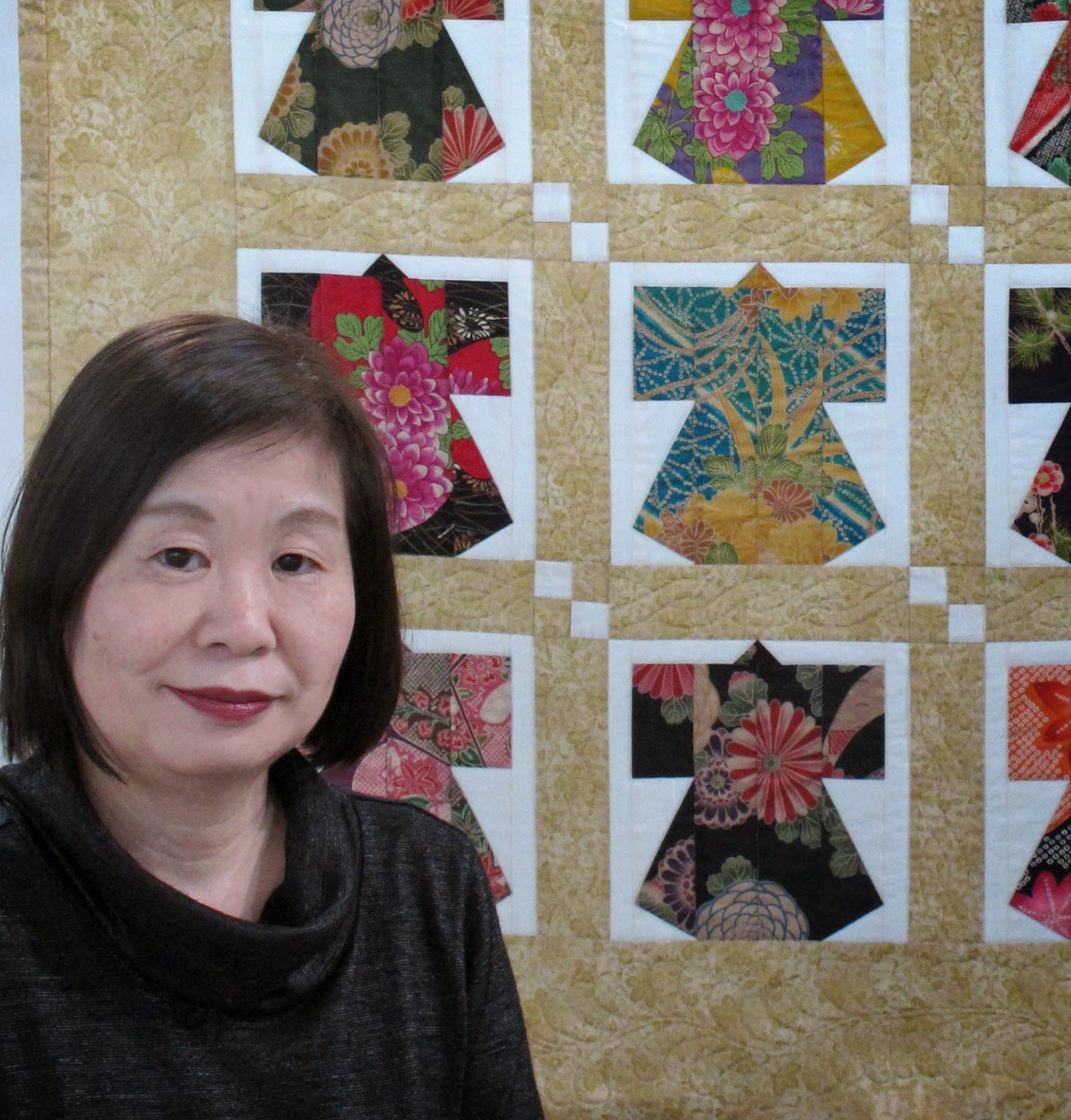 Quilting Inspiration Patchwork Mariko Japan Aqc