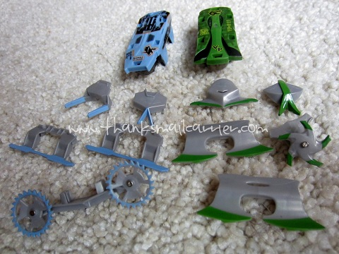 Hexbug warriors armor