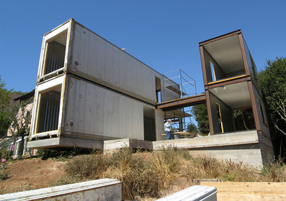 Home Storage Container House 570 x 400