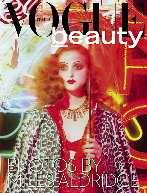 Model @ Madison Stubbington by Miles Aldridge for Vogue Italia, September 2015