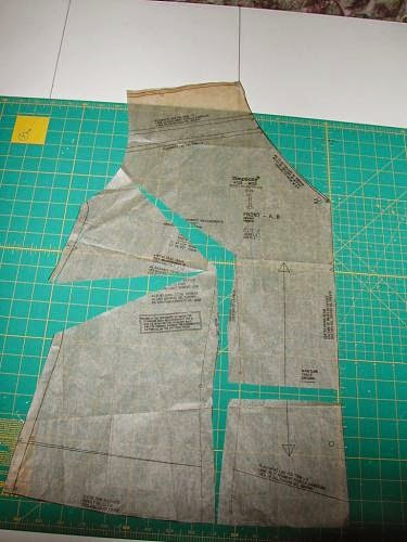 Alterations: Full Bust Adjustment with Dolman Sleeves