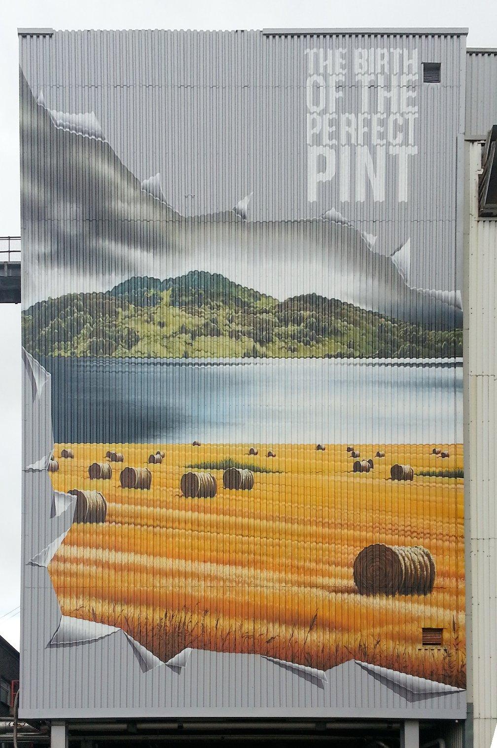Wellpark Brewery Murals, Glasgow