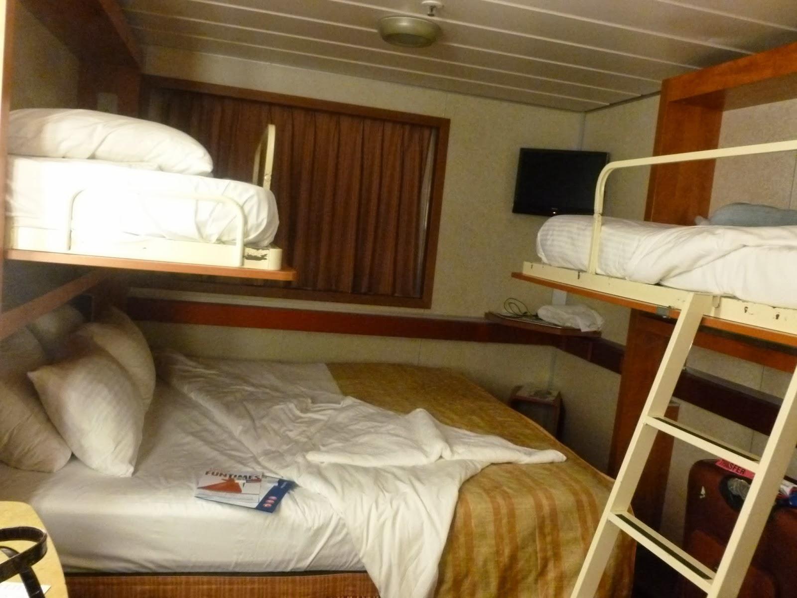 My desi blog bahamas cruise carnival sensation day 1 for Carnival sensation interior rooms