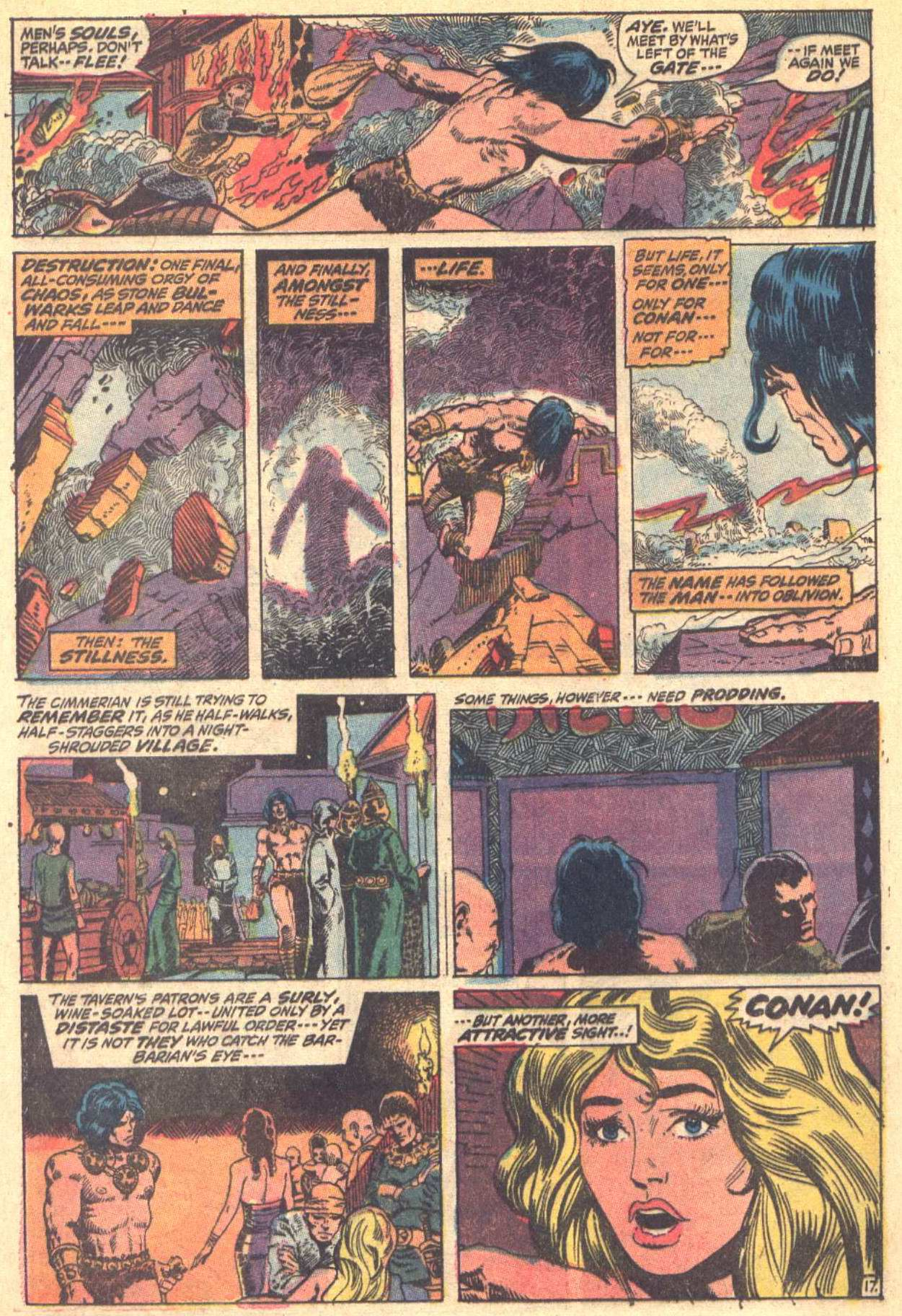 Conan the Barbarian (1970) Issue #8 #20 - English 18
