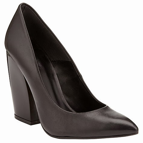 Kin by John Lewis Thirty Leather Stiletto Shoes