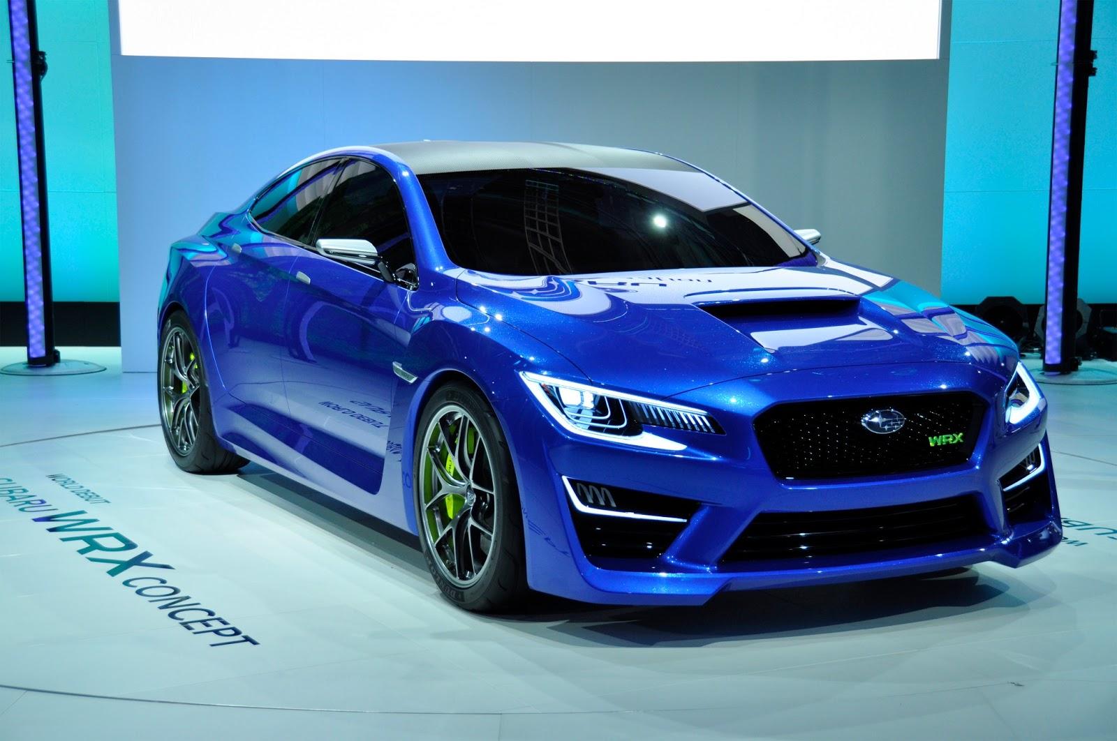2015 Subaru WRX  WRX STI Concept Release Date  New Car Release