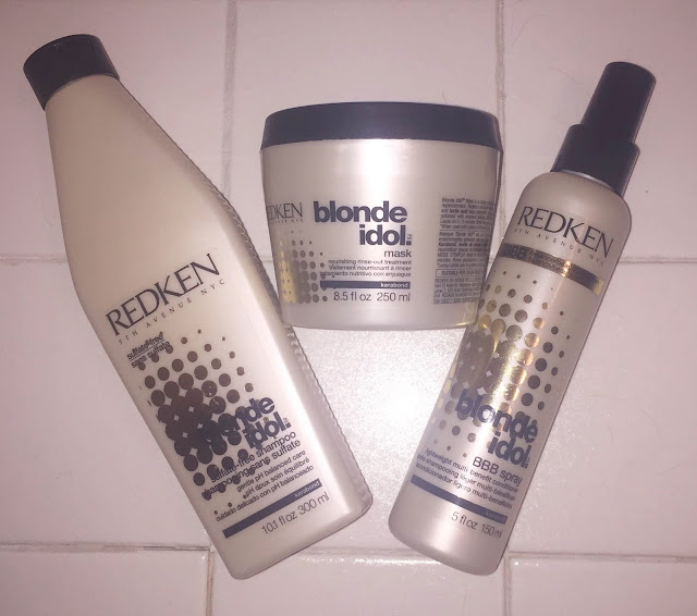 travel, travel-sized beauty products, travel beauty essentials, The Redken Blonde Idol Collection, Redken Blonde Idol Sulfate-Free Shampoo, Redken Blonde Idol Mask, Redken Blonde Idol BBB Conditioning Spray