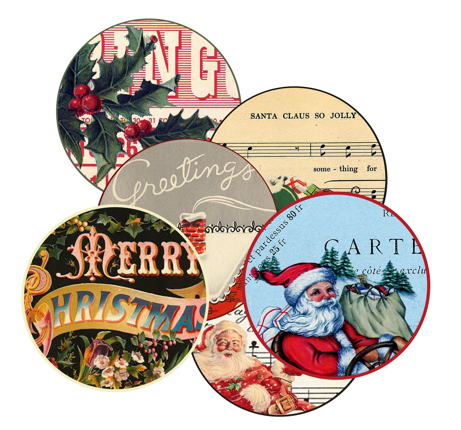 Wild@heart: Friday freebie- christmas labels