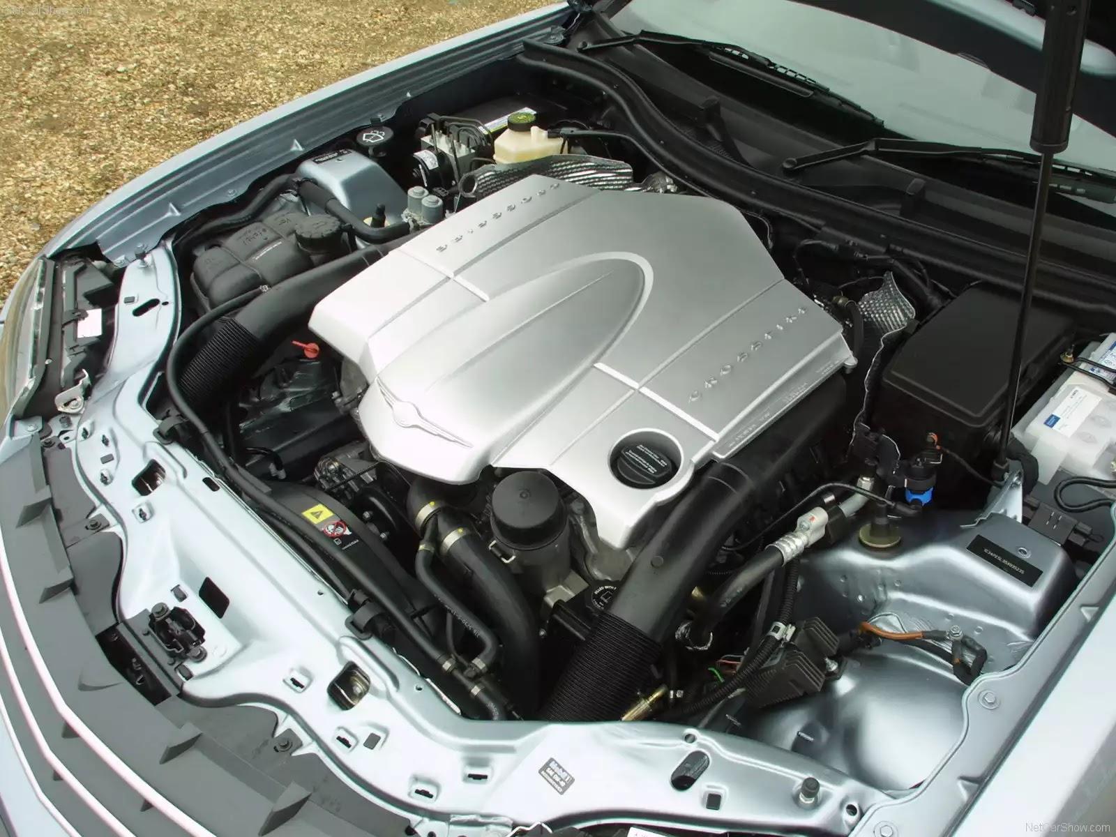 Hình ảnh xe ô tô Chrysler Crossfire Roadster UK Version 2007 & nội ngoại thất
