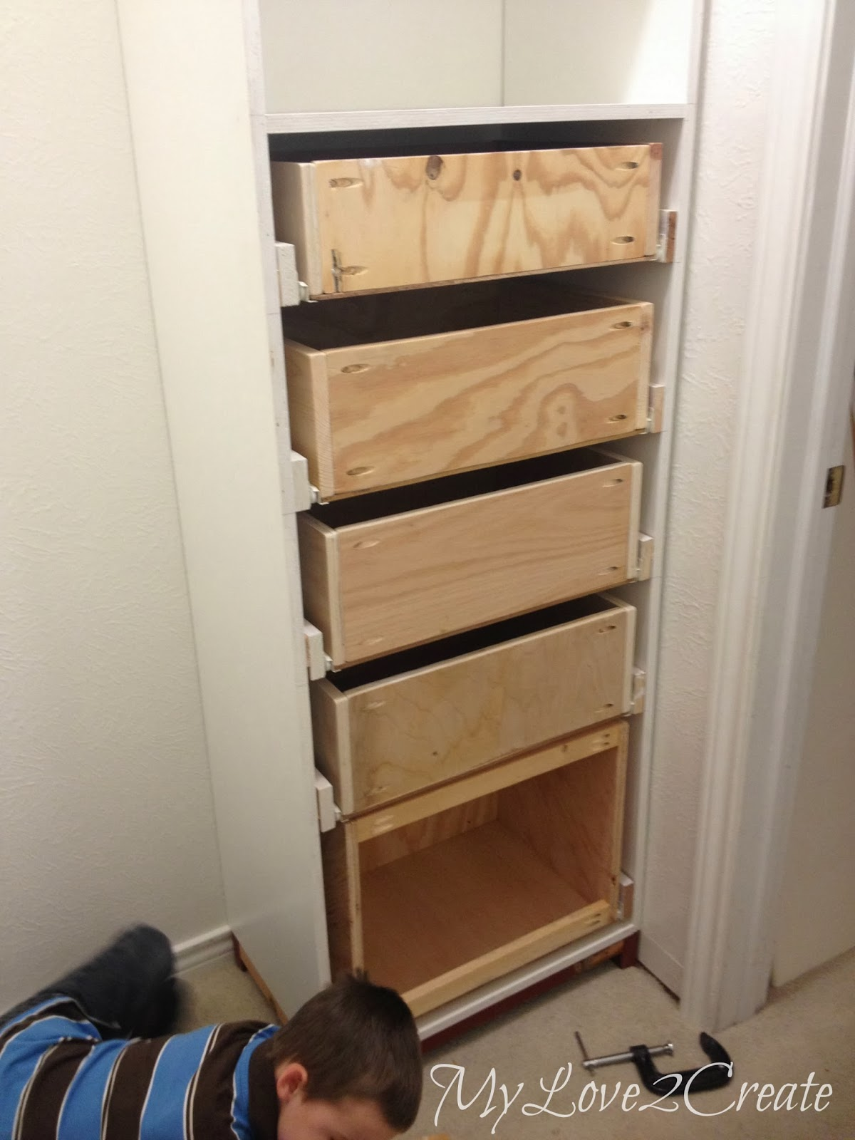 Drawers And Drawer Slides Master Closet Makeover My
