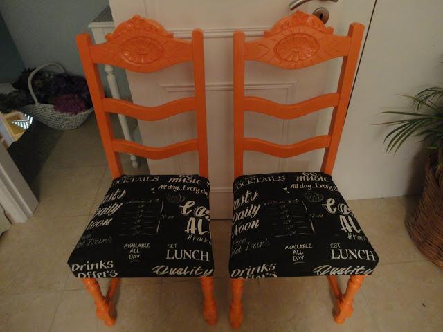 Reciclar cadeiras