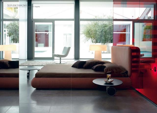 luxury beds from bonaldo home staging phoenix