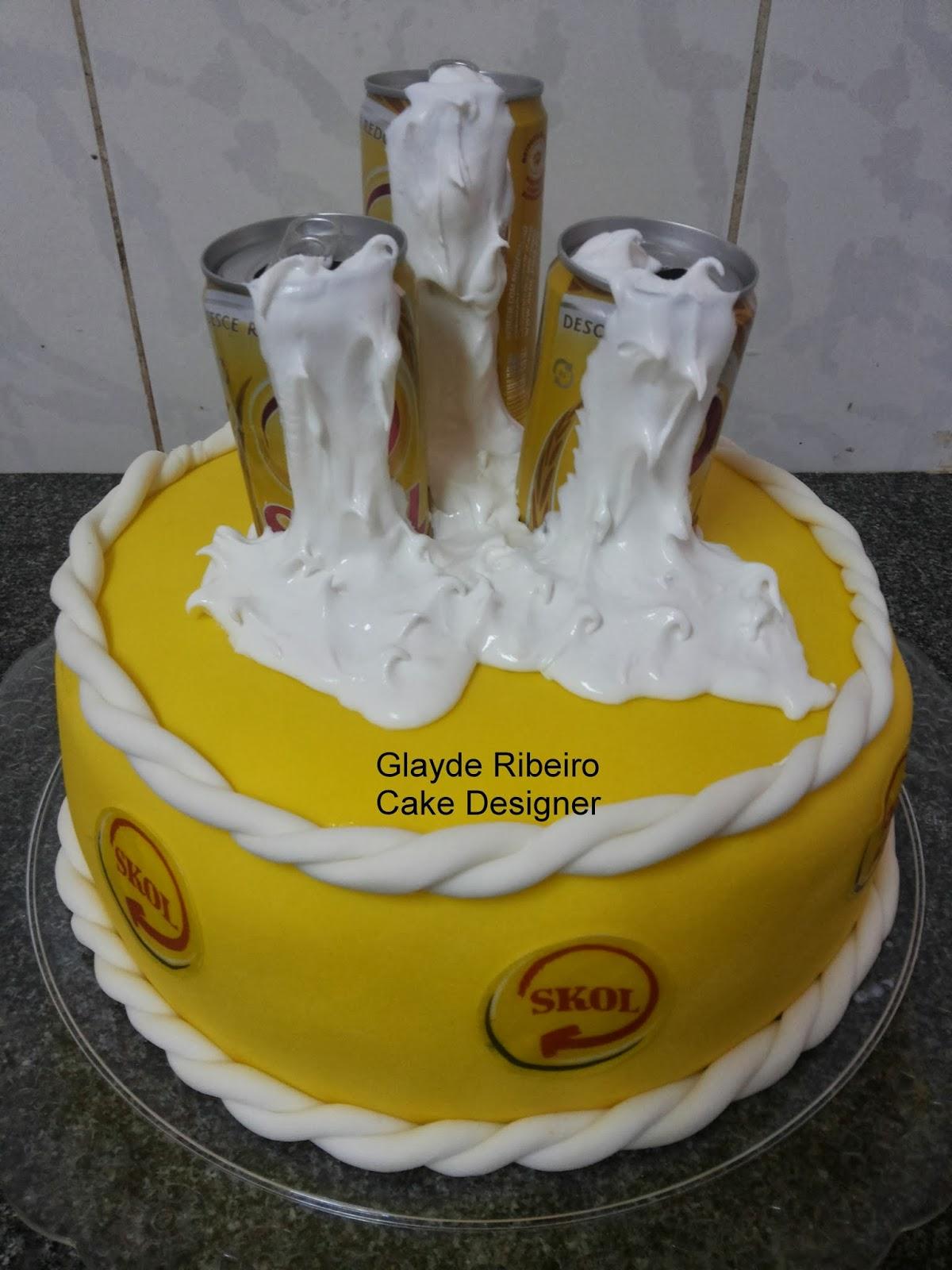Populares Glayde Ribeiro Cake Designer, bolos personalizados e cup cakes  GB15