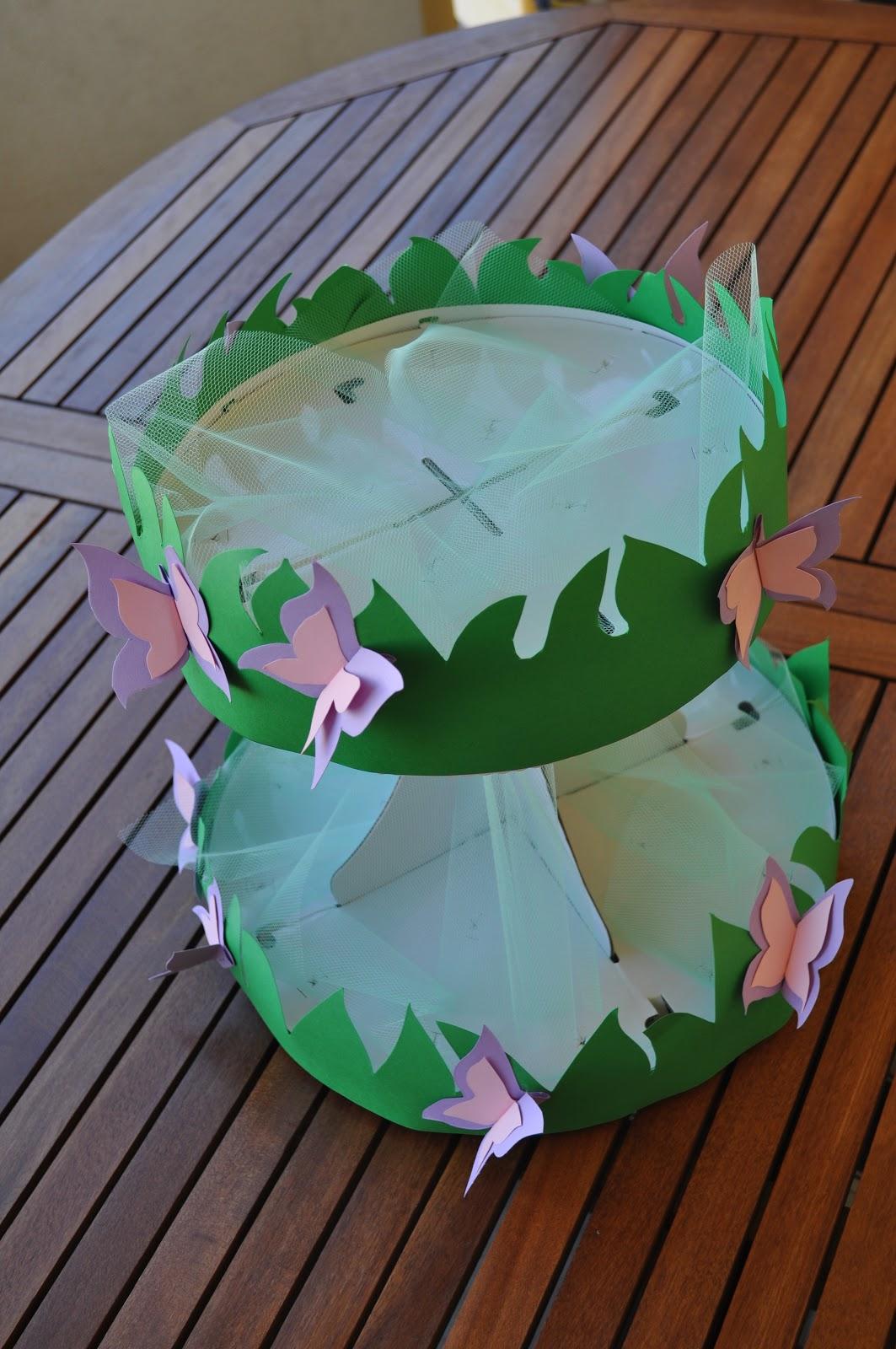 creativo alzatina Fiori : ... ho organizzato una festa a tema