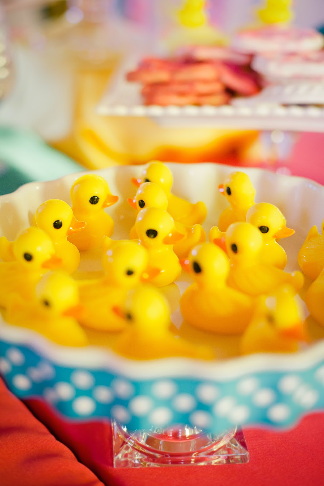 The Party Wall Rubber Ducky Inspired First Birthday Party