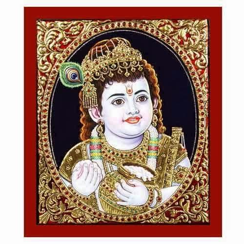 Tanjore Painting Krishna