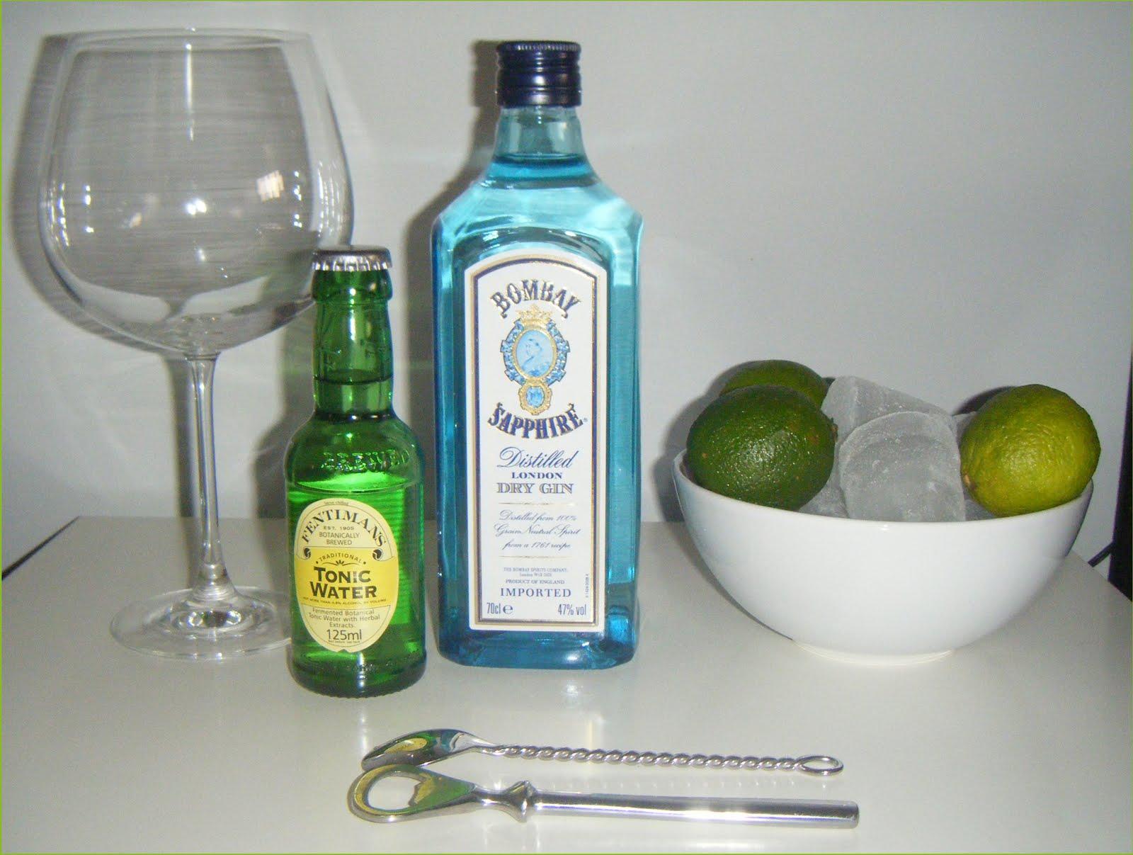 Preparaci 243 N Gin Tonic Perfecto Bombay Sapphire The Gin Blog