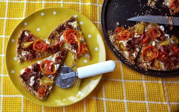 Heirloom Tomato Spelt Tart